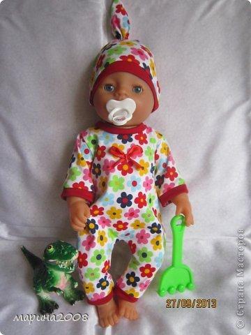 Одежда для кукол BABY BORN.Подходит для кукол-пупсов ростом 40-43см.Вся одежда выполнена вручную из натуральных качественных тканей!!!Каждая девочка будет рада такому подарку! фото 30