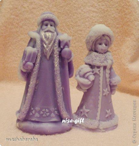 Дед Мороз с внучкой фото 1