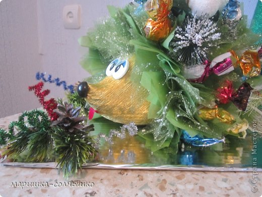 новогодний ёжик фото 2