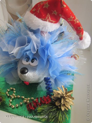новогодний ёжик фото 5