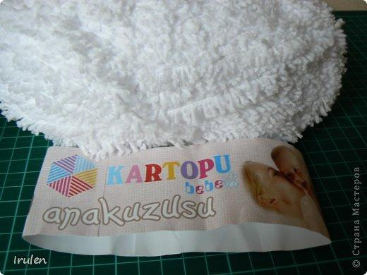 Начался новый ёлочный сезон :) Елочка выполнена из замечательной детской пряжи. Очень мягкая и теплая :) фото 3