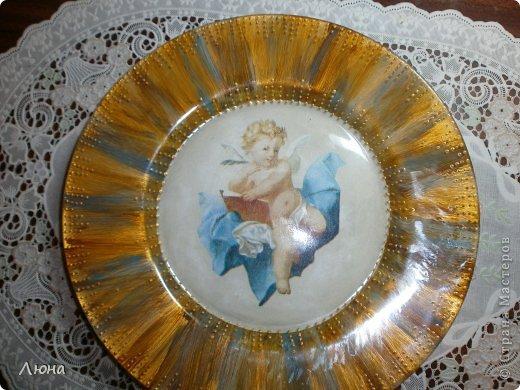 Тарелки с ангелами фото 1