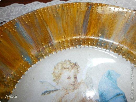 Тарелки с ангелами фото 3