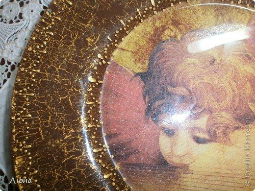 Тарелки с ангелами фото 5
