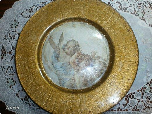 Тарелки с ангелами фото 6