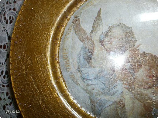 Тарелки с ангелами фото 7