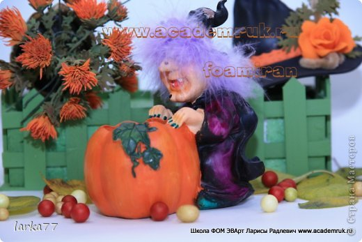 Мастер-класс Моделирование конструирование Фом ЭВА-Фоамиран  Хеллоуин Фоамиран фом фото 2