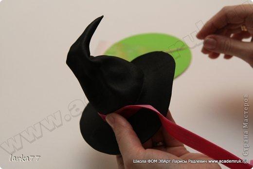 Мастер-класс Моделирование конструирование Фом ЭВА-Фоамиран  Хеллоуин Фоамиран фом фото 21