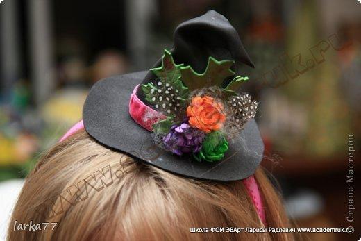 Ободок с шапочкой мастер класс