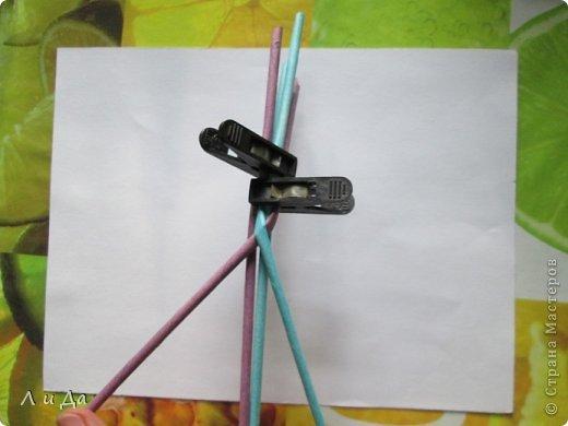 Добрый день всем Мастерам.Сегодня хочу показать,как сделать такую ручку для корзинки. фото 8