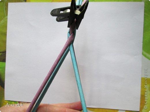 Добрый день всем Мастерам.Сегодня хочу показать,как сделать такую ручку для корзинки. фото 11