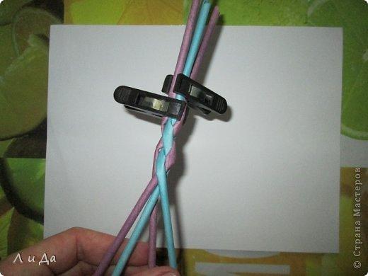 Добрый день всем Мастерам.Сегодня хочу показать,как сделать такую ручку для корзинки. фото 12