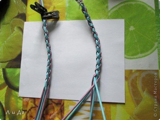 Добрый день всем Мастерам.Сегодня хочу показать,как сделать такую ручку для корзинки. фото 17