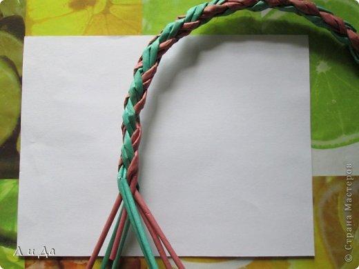 Добрый день всем Мастерам.Сегодня хочу показать,как сделать такую ручку для корзинки. фото 19