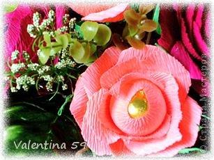 Корзина роз фото 9