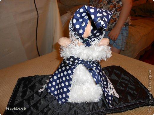 Маленькая ВЕДЬМОЧКА - Эту игрушку я сделала своими руками , хотела выкинуть старые вещи. сын не дал. попросил меня что нибудь смастерить. Вот что вышло)))) фото 2