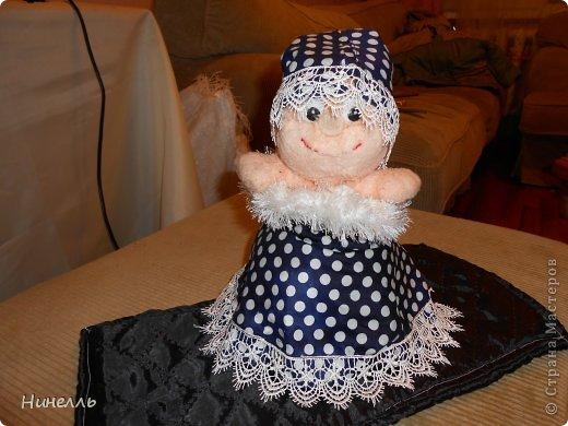 Маленькая ВЕДЬМОЧКА - Эту игрушку я сделала своими руками , хотела выкинуть старые вещи. сын не дал. попросил меня что нибудь смастерить. Вот что вышло)))) фото 3