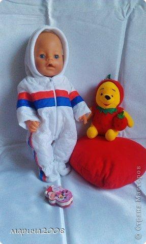 Одежда для кукол BABY BORN.Подходит для кукол-пупсов ростом 40-43см.Вся одежда выполнена вручную из натуральных качественных тканей!!!Каждая девочка будет рада такому подарку! фото 31