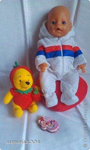 Одежда для кукол BABY BORN.Подходит для кукол-пупсов ростом 40-43см.Вся одежда выполнена вручную из натуральных качественных тканей!!!Каждая девочка будет рада такому подарку! фото 32