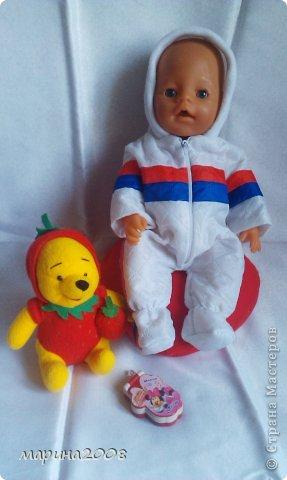 Одежда для кукол BABY BORN.Подходит для кукол-пупсов ростом 40-43см.Вся одежда выполнена вручную из натуральных качественных тканей!!!Каждая девочка будет рада такому подарку! фото 33