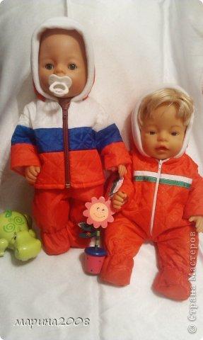 Одежда для кукол BABY BORN.Подходит для кукол-пупсов ростом 40-43см.Вся одежда выполнена вручную из натуральных качественных тканей!!!Каждая девочка будет рада такому подарку! фото 35