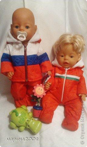 Одежда для кукол BABY BORN.Подходит для кукол-пупсов ростом 40-43см.Вся одежда выполнена вручную из натуральных качественных тканей!!!Каждая девочка будет рада такому подарку! фото 37