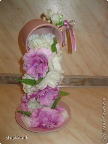 Доброго времени суток мастера и мастерицы, вот немного натворилось за выходные.. это цветочная чашечка и сердце. фото 5