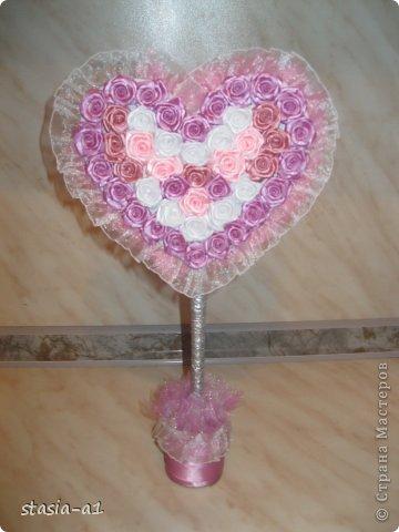 Доброго времени суток мастера и мастерицы, вот немного натворилось за выходные.. это цветочная чашечка и сердце. фото 2