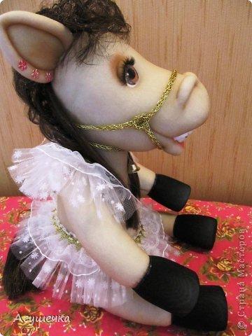 Лошадка изготовлена по МК Леночки Ауловой. фото 5