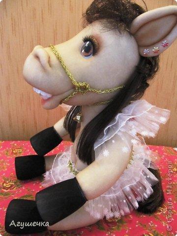 Лошадка изготовлена по МК Леночки Ауловой. фото 3