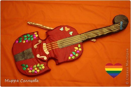 поролоновая гитара фото 10