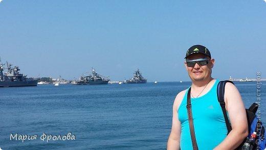 Итак продолжу. Основная часть отпуска - Крым и море. Самая главная - Севастополь! Это мы подъезжаем.))) фото 9