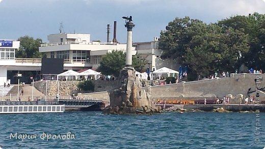 Итак продолжу. Основная часть отпуска - Крым и море. Самая главная - Севастополь! Это мы подъезжаем.))) фото 18