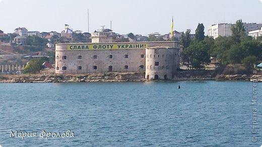 Итак продолжу. Основная часть отпуска - Крым и море. Самая главная - Севастополь! Это мы подъезжаем.))) фото 16