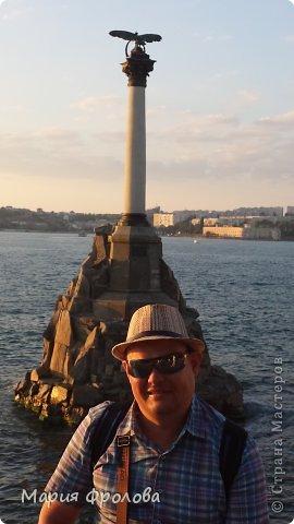 Итак продолжу. Основная часть отпуска - Крым и море. Самая главная - Севастополь! Это мы подъезжаем.))) фото 19
