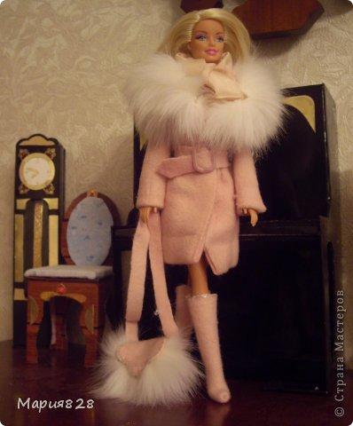 Шубка для куклы фото