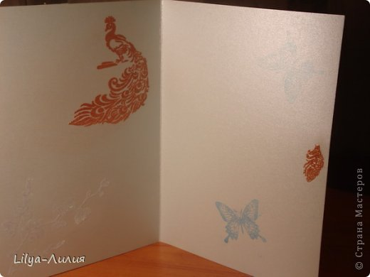 вот открыточка с тильдой (раскрашена в ручную) фото 5