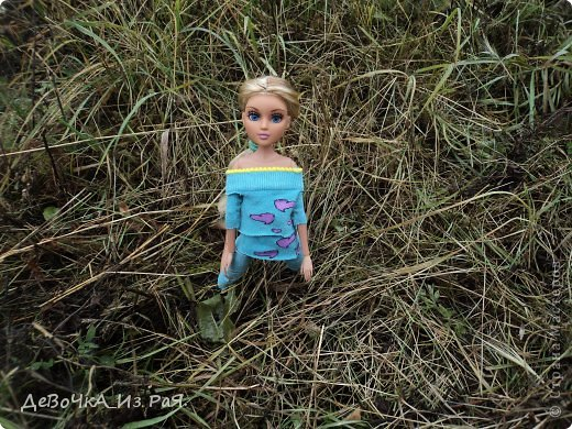 Сегодня мы с Николь гуляли по осенней природе))) фото 2