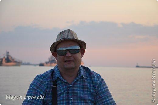 Итак продолжу. Основная часть отпуска - Крым и море. Самая главная - Севастополь! Это мы подъезжаем.))) фото 4