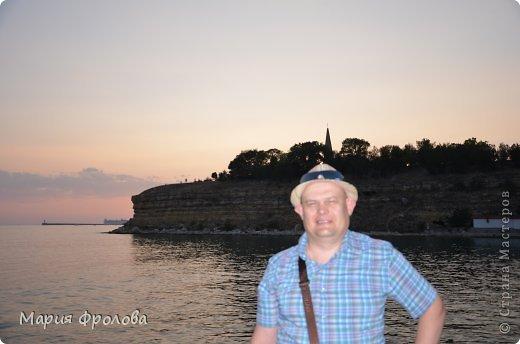 Итак продолжу. Основная часть отпуска - Крым и море. Самая главная - Севастополь! Это мы подъезжаем.))) фото 5