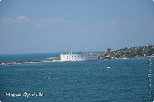 Итак продолжу. Основная часть отпуска - Крым и море. Самая главная - Севастополь! Это мы подъезжаем.))) фото 17