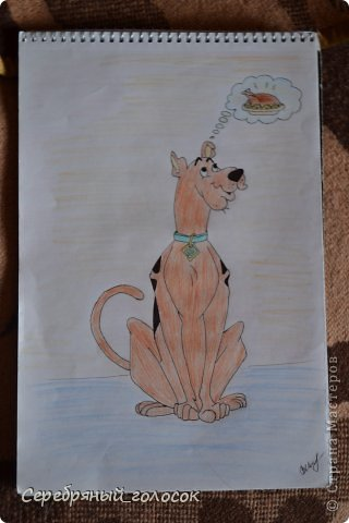 Совсем не художник) Рисовать училась в школе на уроках, сейчас рисую для себя, ну и чтобы было, что ребятам на уроке показать) Пройдемся по мультяшкам))) Джерри Маус фото 8