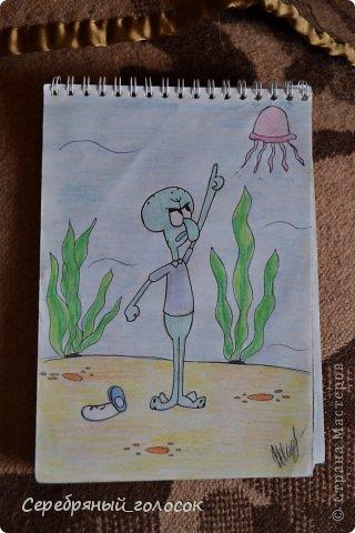 Совсем не художник) Рисовать училась в школе на уроках, сейчас рисую для себя, ну и чтобы было, что ребятам на уроке показать) Пройдемся по мультяшкам))) Джерри Маус фото 18
