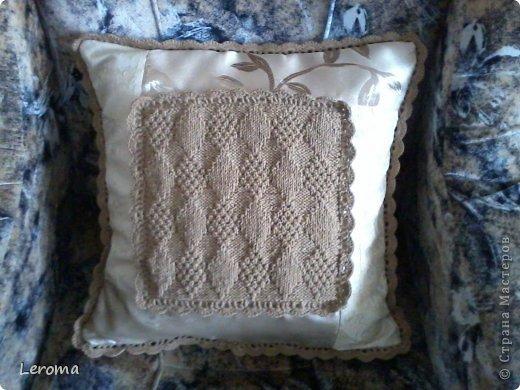Вот..готова еще одна подушка ....для кресла  )) фото 2