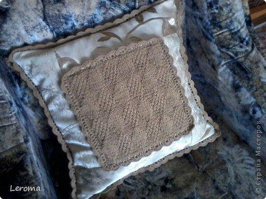 Вот..готова еще одна подушка ....для кресла  )) фото 3