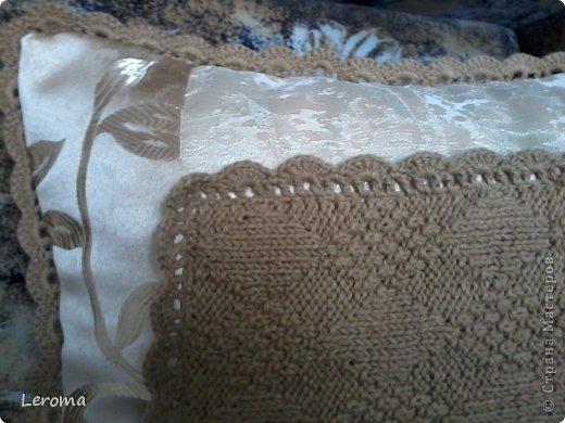 Вот..готова еще одна подушка ....для кресла  )) фото 4