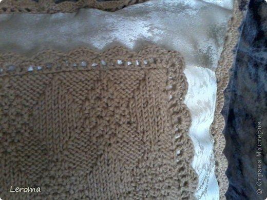 Вот..готова еще одна подушка ....для кресла  )) фото 5