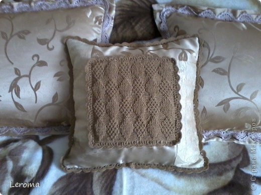 Вот..готова еще одна подушка ....для кресла  )) фото 1