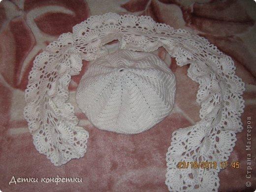 На осень связали беретик и шарфик фото 2