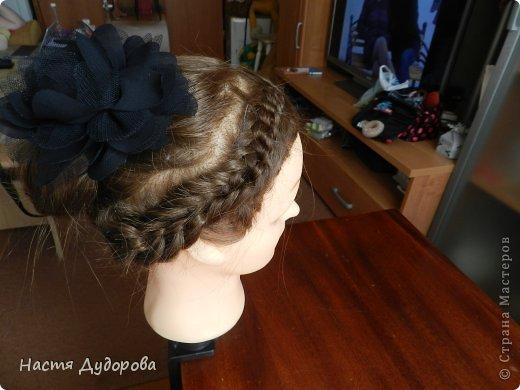 Причёска из узлов МК фото 1